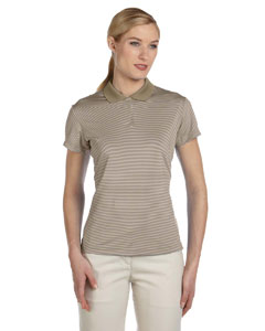 Shore/ecru Women's ClimaLite® Classic Stripe Short-Sleeve Polo
