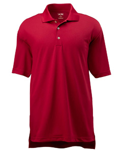 University Red/black Men's ClimaLite® Short-Sleeve Piqué Polo