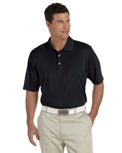Black/white Men's ClimaLite® Short-Sleeve Piqué Polo