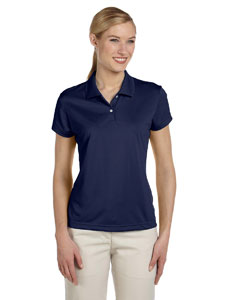 Navy/white Women's ClimaLite® Short-Sleeve Piqué Polo
