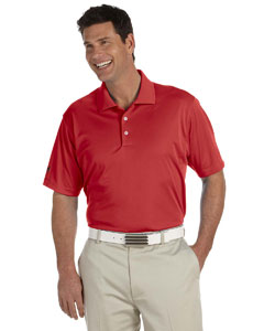 University Red Men's ClimaLite® Basic Short-Sleeve Polo