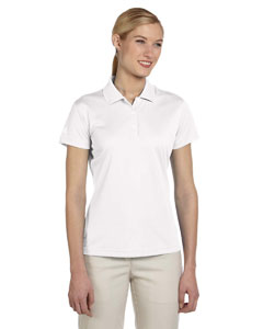 White Women's ClimaLite® Basic Short-Sleeve Polo