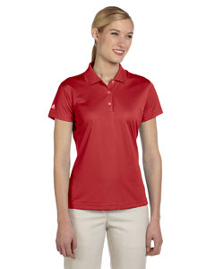 University Red Women's ClimaLite® Basic Short-Sleeve Polo