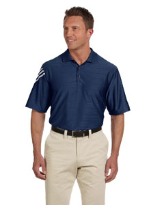 Navy White Men's ClimaCool® Mesh Polo