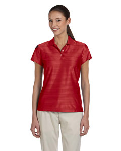 University Red/black Women's ClimaCool® Mesh Polo