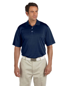 Navy Men's ClimaLite® Textured Short-Sleeve Polo