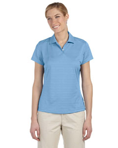 Tide Women's ClimaLite® Textured Short-Sleeve Polo