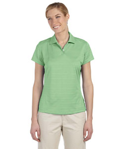 Gecko Women's ClimaLite® Textured Short-Sleeve Polo