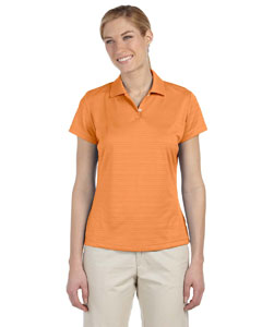 Light Orange Women's ClimaLite® Textured Short-Sleeve Polo