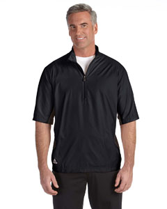 Black/black Men's ClimaLite® Colorblock Half-Zip Wind Shirt