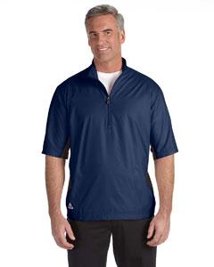 Navy/navy Men's ClimaLite® Colorblock Half-Zip Wind Shirt