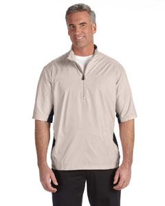 Ecru/black Men's ClimaLite® Colorblock Half-Zip Wind Shirt