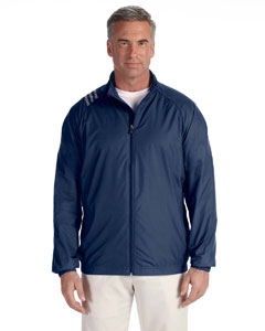 Navy Men's 3-Stripes Full-Zip Jacket