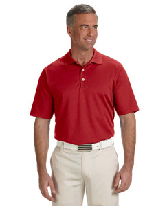 University Red Men's ClimaLite® Solid Polo