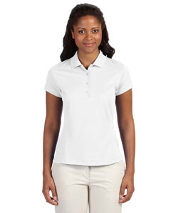 White Women's ClimaLite® Solid Polo
