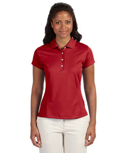 University Red Women's ClimaLite® Solid Polo