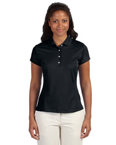 Black Women's ClimaLite® Solid Polo