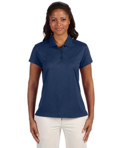 Navy Women's ClimaCool® Diagonal Textured Polo