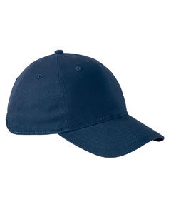 Navy Performance Front-Hit Relaxed Cap