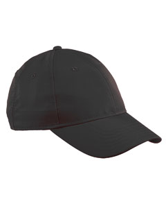 Black Performance Max Front-Hit Relaxed Cap