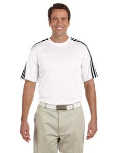 White/black Men's ClimaLite® 3-Stripes T-Shirt