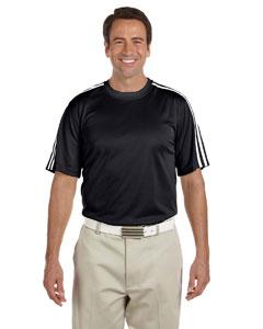 Black/white Men's ClimaLite® 3-Stripes T-Shirt