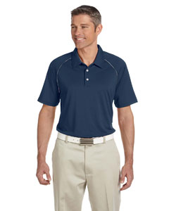 Navy/white Men's ClimaLite® Piped Colorblock Polo
