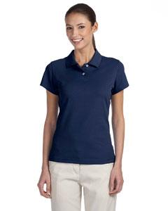 Navy/white Women's ClimaLite® Tour Pique Short-Sleeve Polo