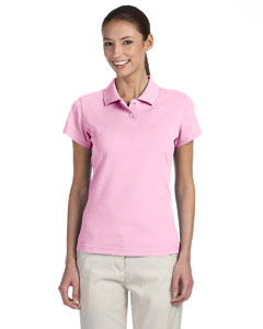 Pale Pink/white Women's ClimaLite® Tour Pique Short-Sleeve Polo