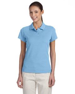 Tide/white Women's ClimaLite® Tour Pique Short-Sleeve Polo