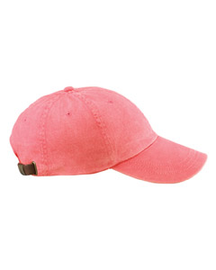 Coral 6-Panel Low-Profile Washed Pigment-Dyed Cap
