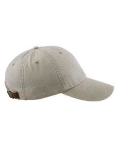 Stone 6-Panel Low-Profile Washed Pigment-Dyed Cap