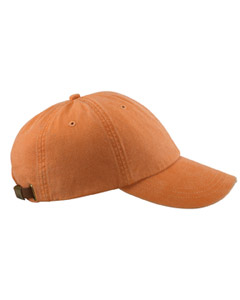 Terra Cotta 6-Panel Low-Profile Washed Pigment-Dyed Cap