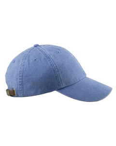 Periwinkle 6-Panel Low-Profile Washed Pigment-Dyed Cap