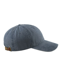 Navy 6-Panel Low-Profile Washed Pigment-Dyed Cap
