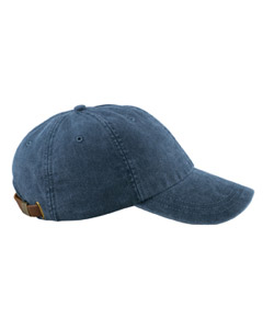 Midnight 6-Panel Low-Profile Washed Pigment-Dyed Cap