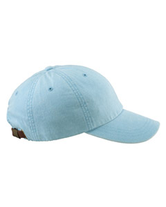 Baby Blue 6-Panel Low-Profile Washed Pigment-Dyed Cap