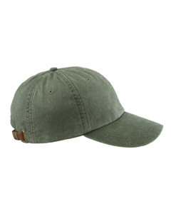 Spruce Green 6-Panel Low-Profile Washed Pigment-Dyed Cap