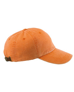 Tangerine 6-Panel Low-Profile Washed Pigment-Dyed Cap