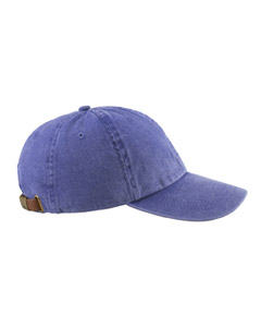 Purple 6-Panel Low-Profile Washed Pigment-Dyed Cap