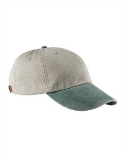 Stone/forest 6-Panel Low-Profile Washed Pigment-Dyed Cap