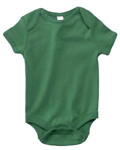 Kelly Infant Short-Sleeve Baby Rib One-Piece