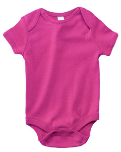 Berry Infant Short-Sleeve Baby Rib One-Piece
