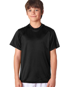 Black Youth B-Core Short-Sleeve Performance Tee