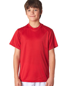 Red Youth B-Core Short-Sleeve Performance Tee