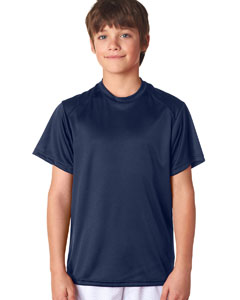 Navy Youth B-Core Short-Sleeve Performance Tee