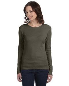 Army Women's Baby Rib Long-Sleeve T-Shirt