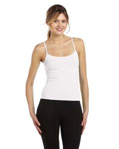 White Women's Cotton/Spandex Camisole