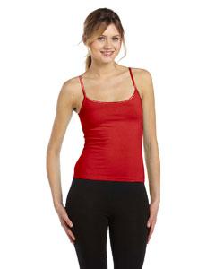 Red Women's Cotton/Spandex Camisole
