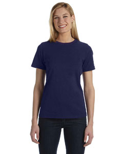 Navy Missy Jersey Short-Sleeve T-Shirt
